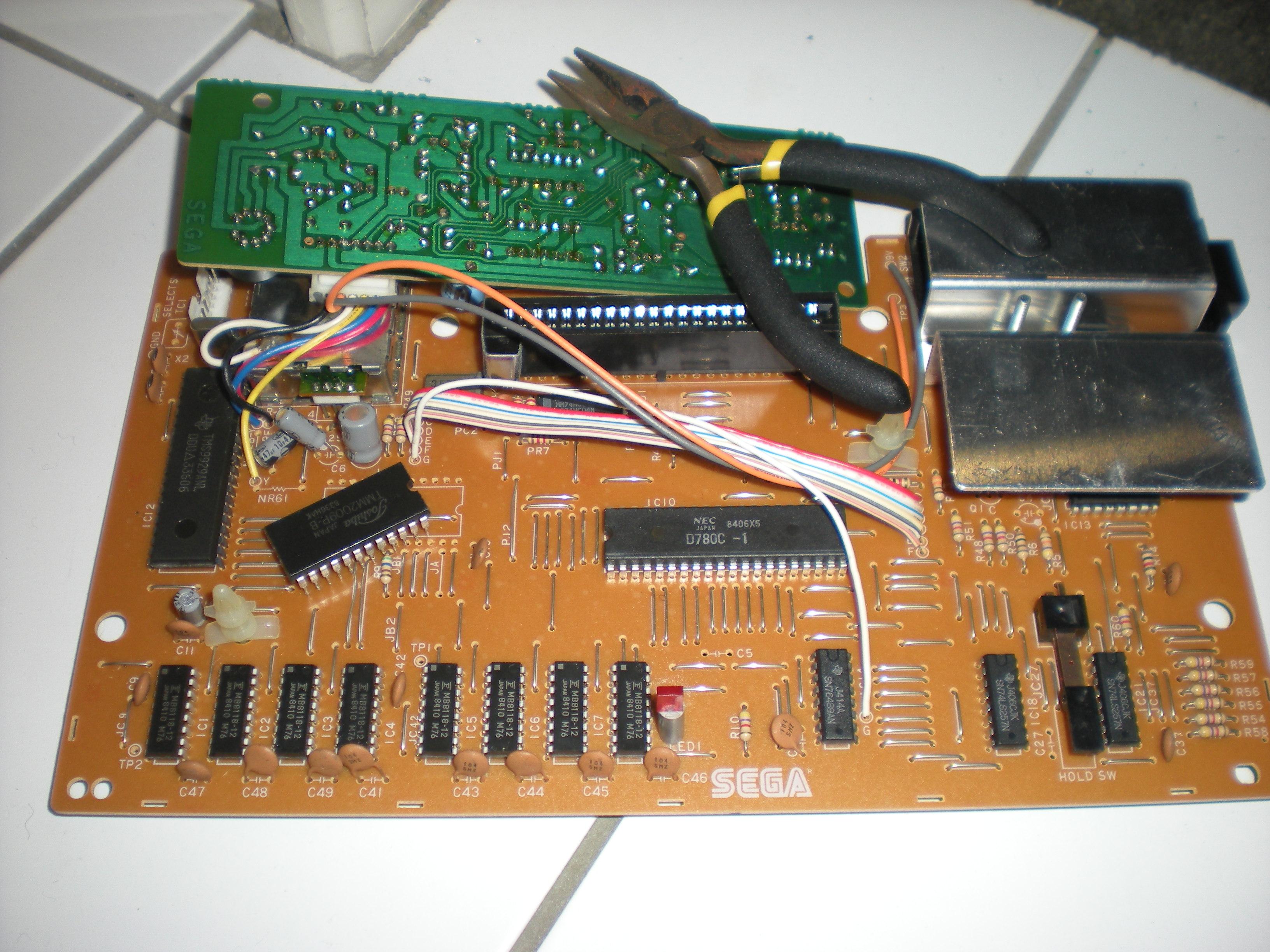 Réparation SG-1000 Grandstand 889595DSCN4919