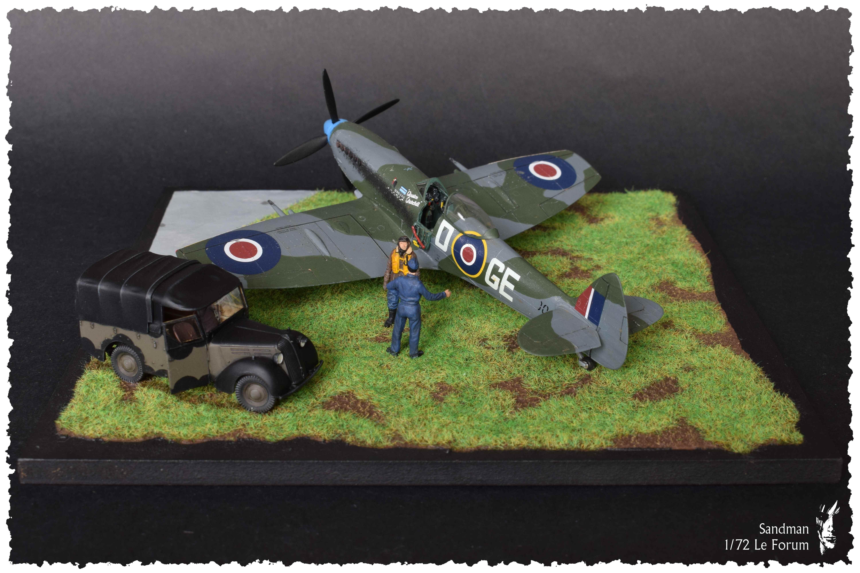 [Heller] Spitfire Mk. XVI 890252SpitfireMk1617