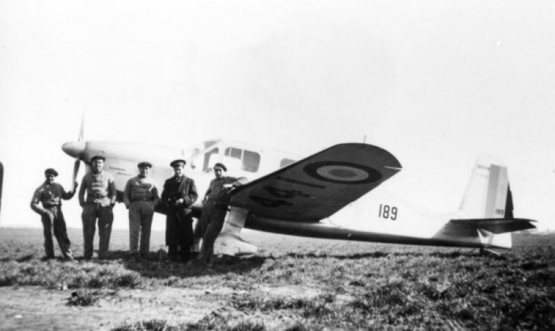 Diorama Caudron Simoun Armée de l'Air! 890596Photo19File33332