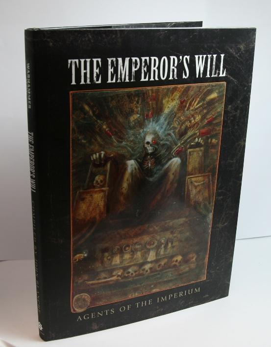 La Volonté de l'Empereur de John Blanche (Art Book) 893017Emperorsswillcover