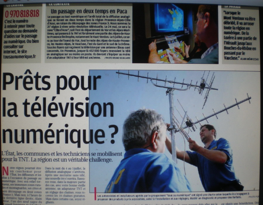 CHAINES DE  FOOT A LA TELE  : CFOOT/ C+ TF1 M6 ET LES AUTRES  - Page 2 893969IMGP6007
