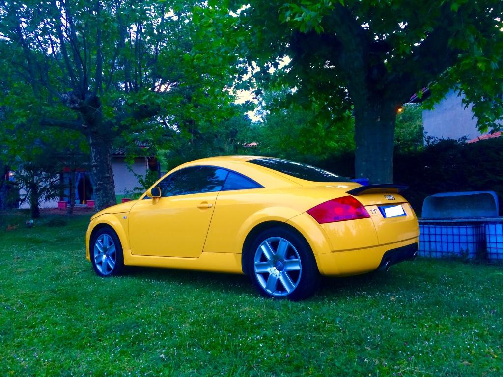 Mon TT mk1 3.2 jaune imola  894036IMG4148