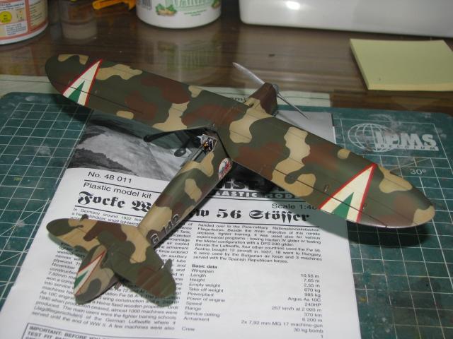 FW-56 Stösser 1/48 Historic Plastic Models ...terminé! - Page 2 894624IMG3524
