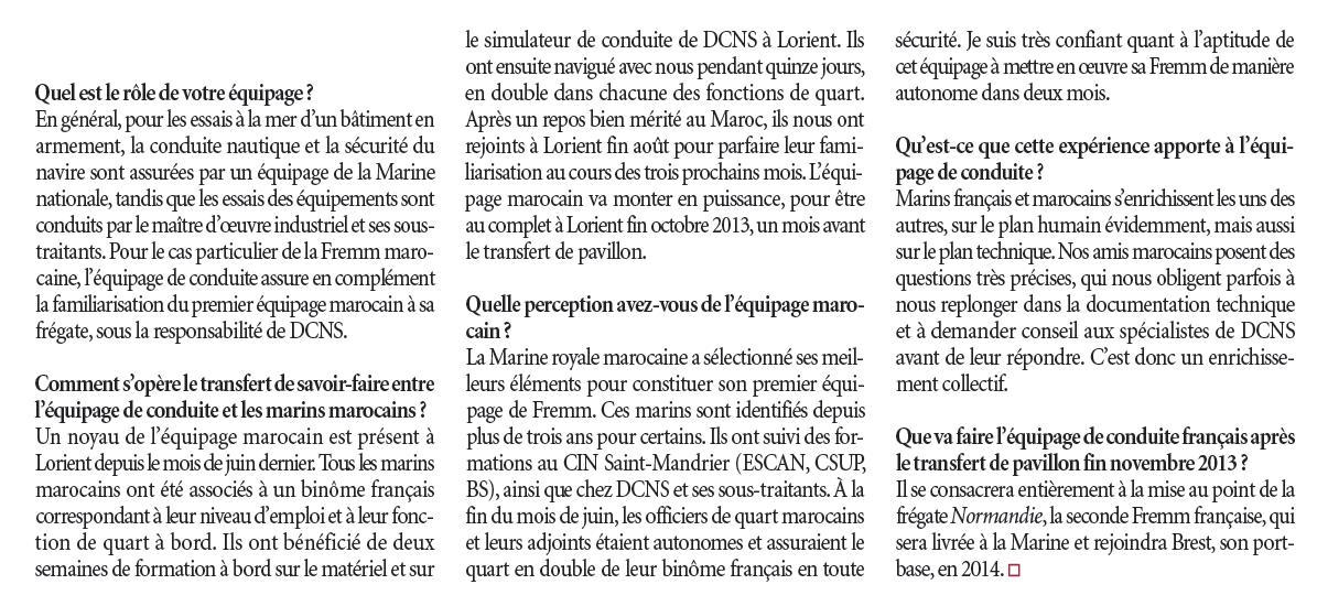 FREMM Marocaine / Royal Moroccan Navy FREMM Frigate - Page 39 894727eee