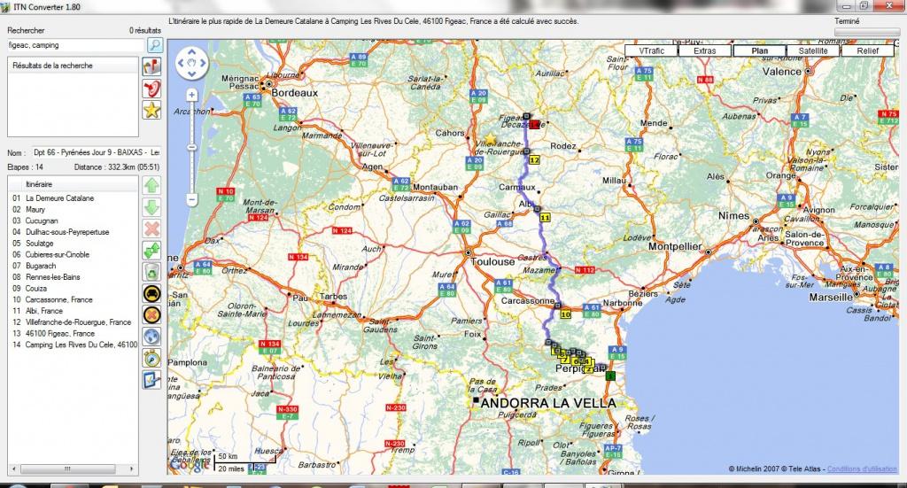 Préparation - LES PYRÉNÉES D'OUEST EN EST-10 jours en Sept 2012 895633Jour9CampingFigeac