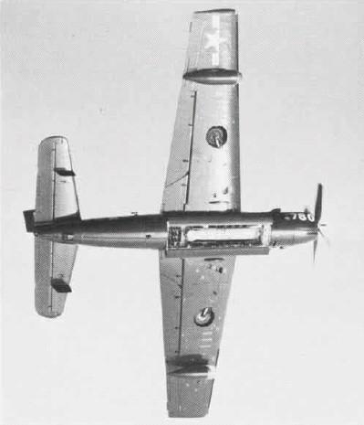 GRUMMAN AF-2 GUARDIAN  896605AF2Sweaponsbay