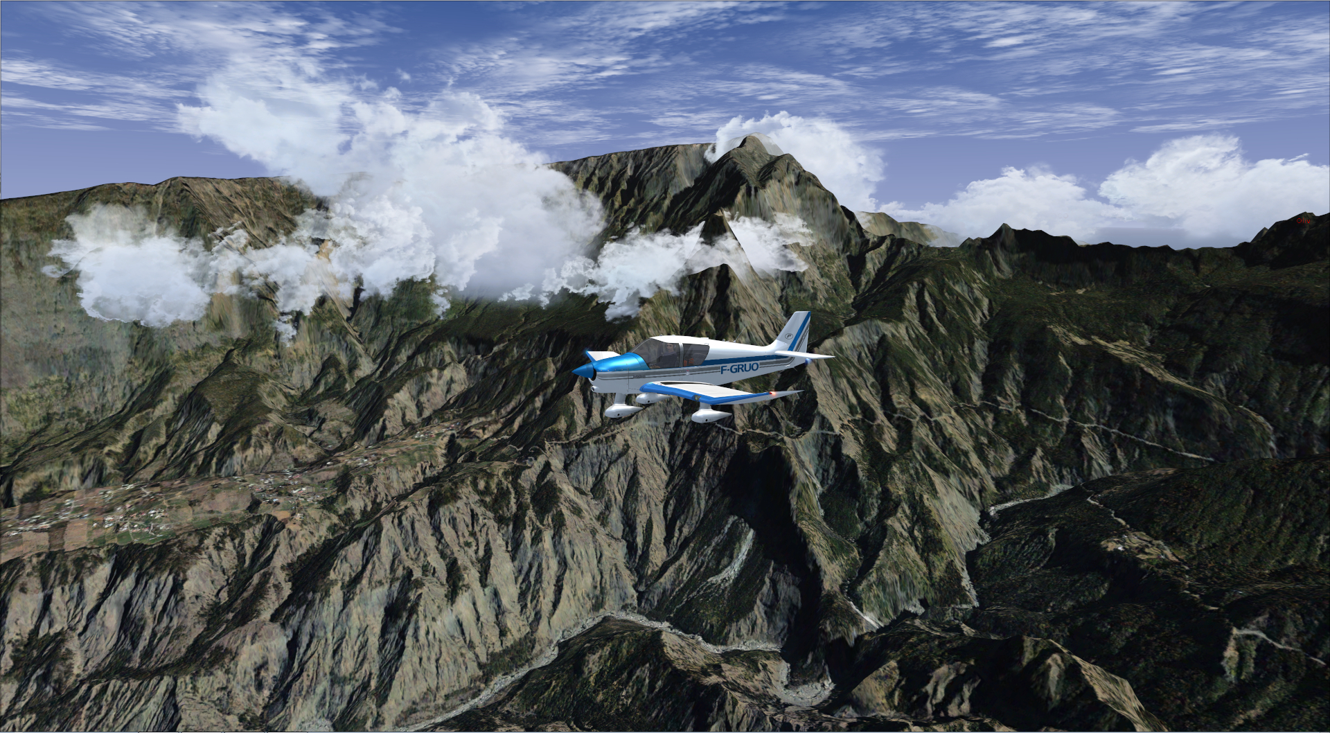 Survol de l'Ile de la Réunion 8971812014829205559527