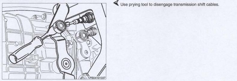 Changer les cables de commande de boite soi même (987) 898328boitea11