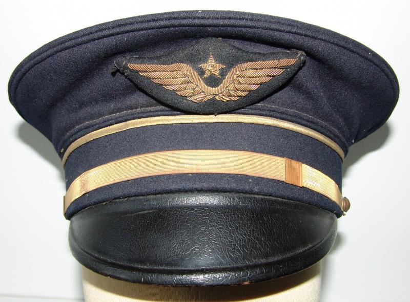 Casquette d'un aviateur 1930/40 906450DSC09195