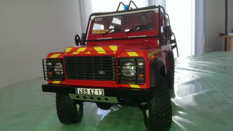 Defender 90 VLTT 'sapeurs pompiers des bouches du rhone - Page 5 907332IMAG21635