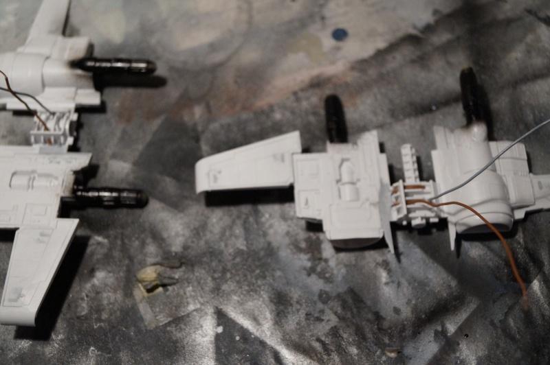 "X-Wing ""Resistance"" T-70 Bandaï 1/72 907531DSC01407"