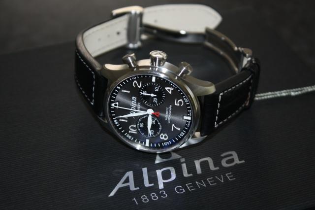 "Alpina - [Revue]Alpina Startimer Pilot Chrono 'sunray"" 907549325"