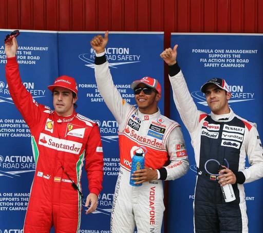 F1 GP D'Espagne 2012 : (essais libres 1 -2 -3 - Qualifications)  9113872012FernandoAlonsoLewisHamiltonPastorMaldonado