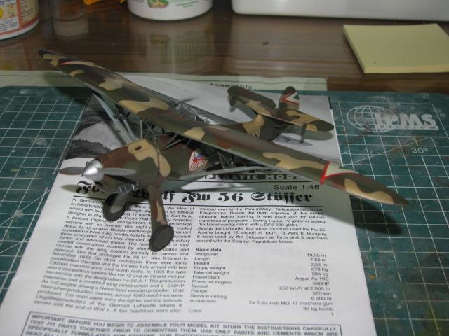 FW-56 Stösser 1/48 Historic Plastic Models ...terminé! - Page 2 912081IMG3522