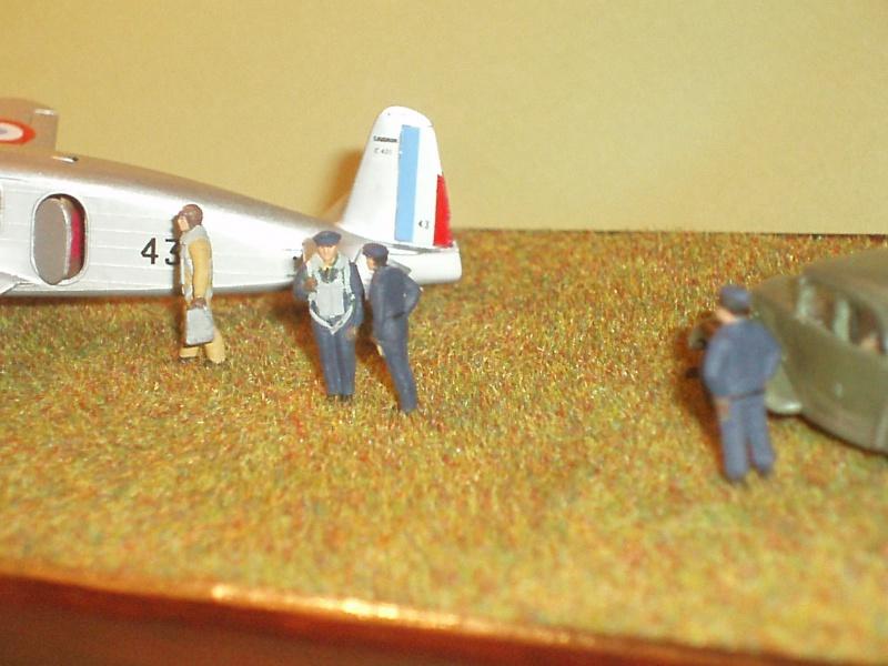 Diorama Caudron Simoun Armée de l'Air! 913218P1010339