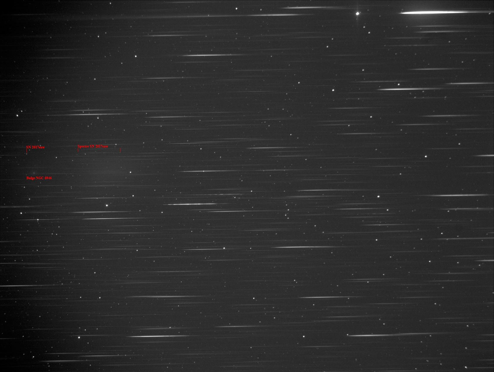 Supernova PSN 2017eaw dans la bien nommée fireworks galaxy (NGC 6946) 9159363734718sn