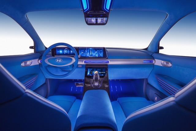 Hyundai a dévoilé son concept Fuel Cell nouvelle génération au salon de l'automobile de Genève 920383164227076758bda9cddec1e