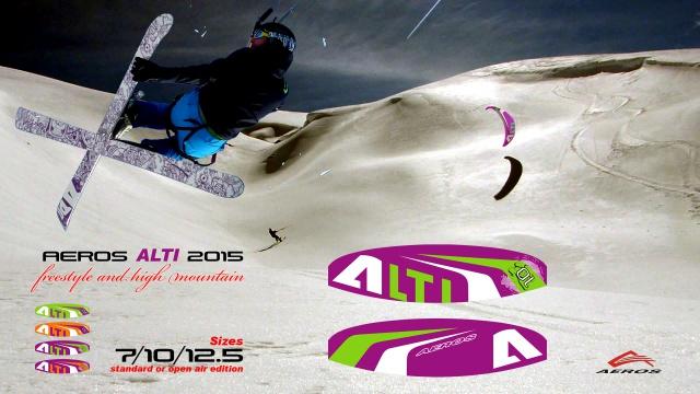 Snowkite AEROS ALTI 2015 921903altifromaeros