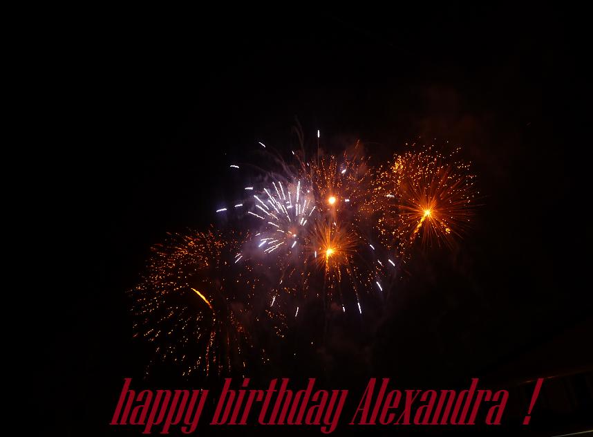 Joyeux anniversaire, Alexandra ! 926152yes