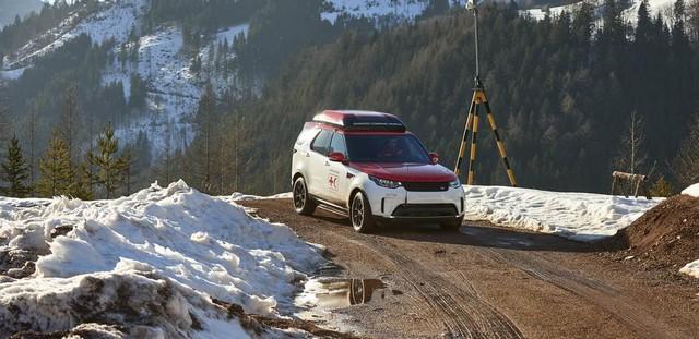 Project Hero, une version unique du nouveau Land Rover Discovery pour la Croix Rouge autrichienne  926482image5