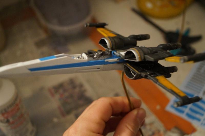 "X-Wing ""Resistance"" T-70 Bandaï 1/72 927453DSC01458"