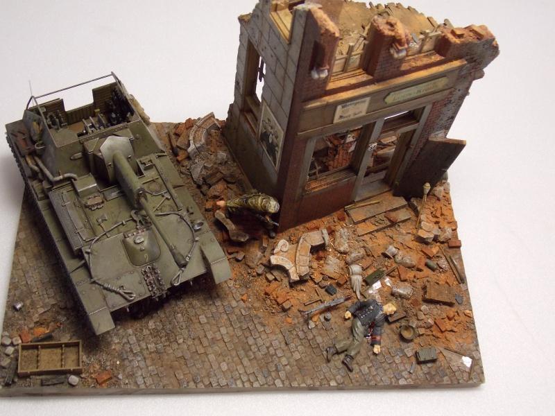 SU 76 M Tamiya et ruine Verlinden 1/35 - Page 8 927776DSCN4460