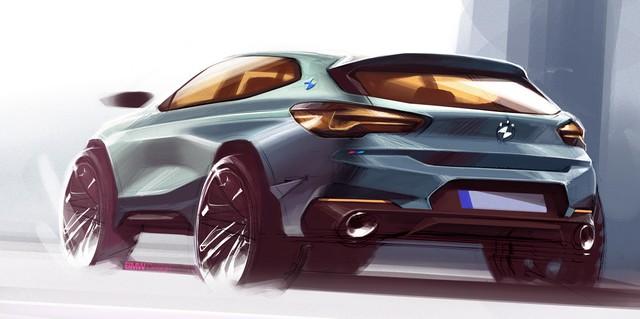 La nouvelle BMW X2 Silhouette élégante, dynamique exceptionnelle 930763P90281597highResthebrandnewbmwx2