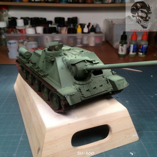 SU-100 marque Dragon 1/35 933428IMG3888