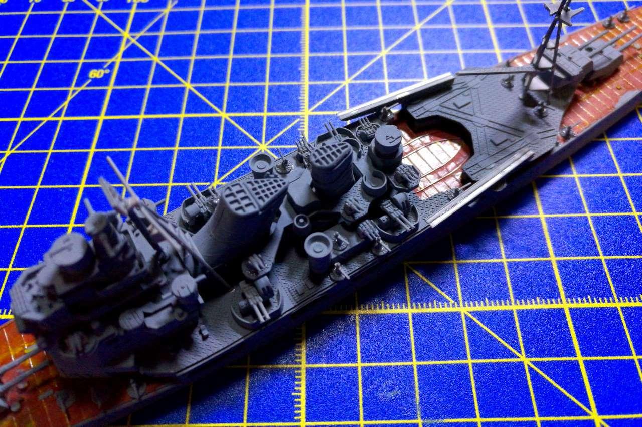 Croiseur TAKAO 1944 1/700 Pit-Road 933434Takao30