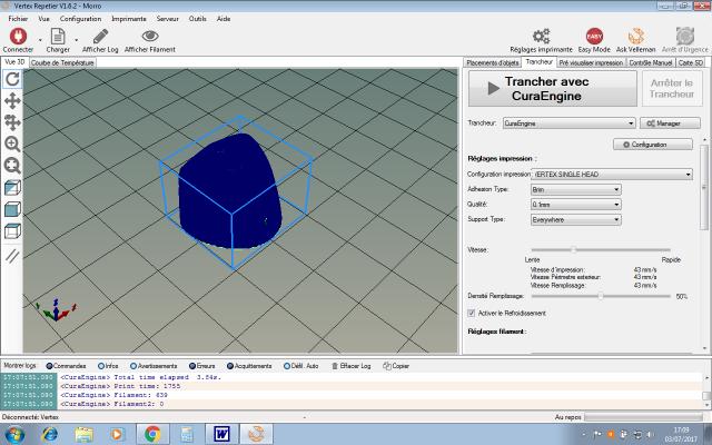 L'impression 3D: présentation du futur du maquettisme!  933785VertexRepetiercapotCuraEngine