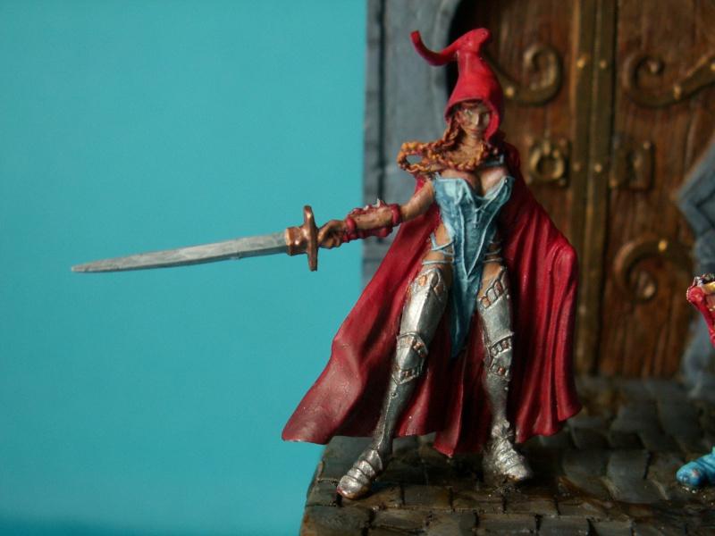 Isabeau la secréte et son porte épée. Marque Rackham 28 Mm 934016PICT0018