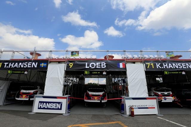 Troisième podium d'affilée pour Sébastien Loeb et la PEUGEOT 208 WRX, au Canada 94191759850a0fe076czoom
