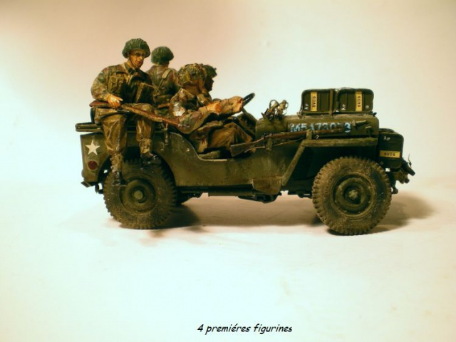jeep indochine - 6 pdr ,jeep ,équipage airborne Bronco 1/35 (sur la route de Ouistreham) 943183IMGP0014