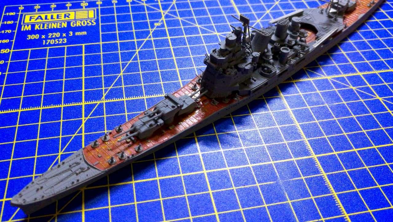 Croiseur TAKAO 1944 1/700 Pit-Road 943266Takao28