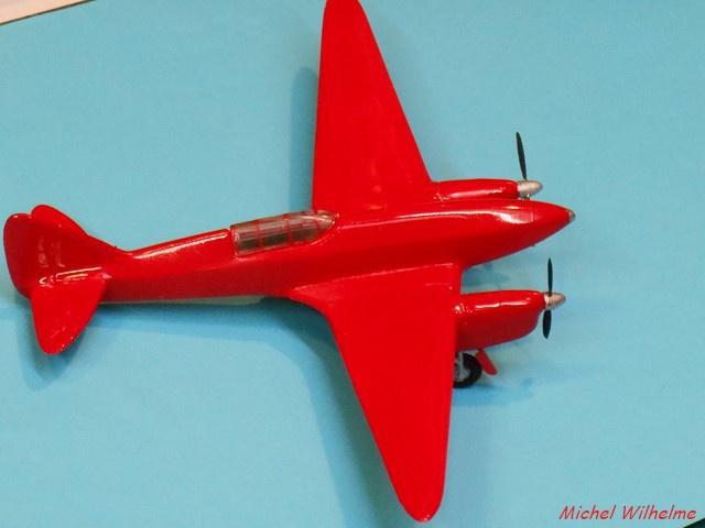 DE HAVILLAND D H88 kit Airfix 1959 945194DSCN9413Copier