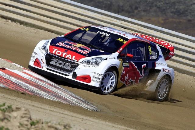 Sébastien Loeb et la PEUGEOT 208 WRX décrochent une belle deuxième place à Montalegre 94541158fbb43f96518