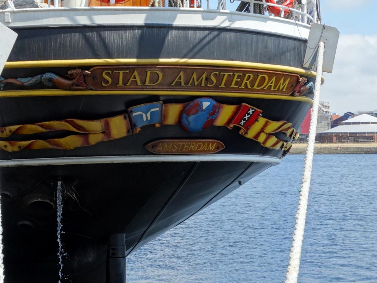 [ Marine à voile ] STAD AMSTERDAM 947172844