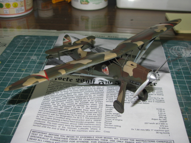 FW-56 Stösser 1/48 Historic Plastic Models ...terminé! - Page 2 949475IMG3523