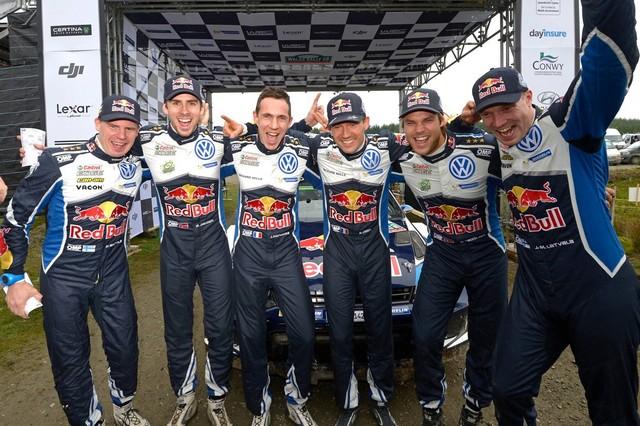 Victoire de Sébastien Ogier/Julien Ingrassia et quatrième titre constructeurs pour Volkswagen  95042514753795