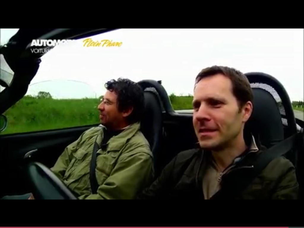 Notre 986 sur AutoMoto (TF1) aujourd'hui ^^ 951471image