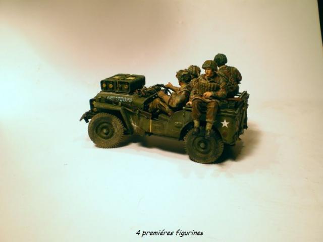 jeep indochine - 6 pdr ,jeep ,équipage airborne Bronco 1/35 (sur la route de Ouistreham) 952237IMGP0009