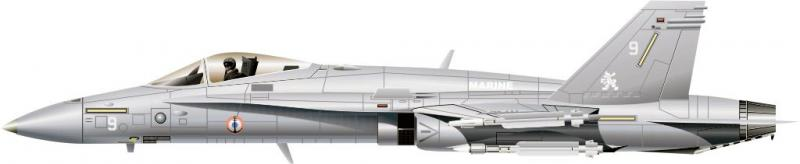 MCDONNELL-DOUGLAS F/A-18 HORNET  954755F18_FN_