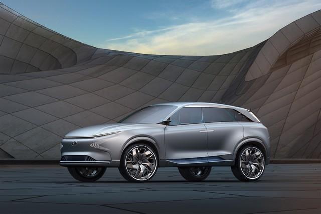 Hyundai a dévoilé son concept Fuel Cell nouvelle génération au salon de l'automobile de Genève 955234FEFuelCellConcept5