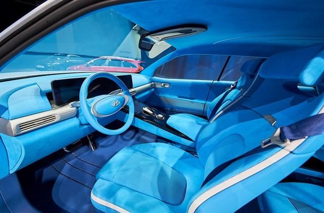 Hyundai a dévoilé son concept Fuel Cell nouvelle génération au salon de l'automobile de Genève 9559292017FEFuelCellConcept