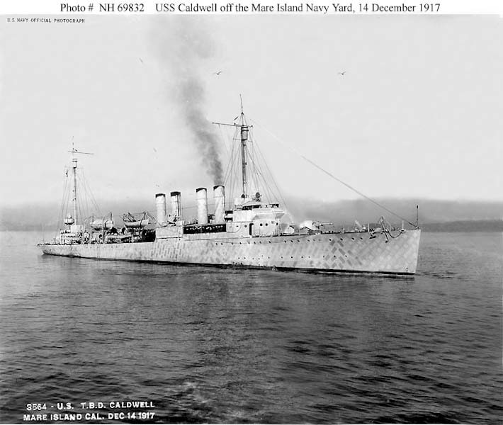 USN DESTROYERS CLASSE PORTER 956149USSCaldwell