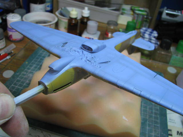 Hawker Hurricane Mk IId Trop 6 Sqn 1942 Hobbycraft 1/48.... Terminé! 956479IMG1125