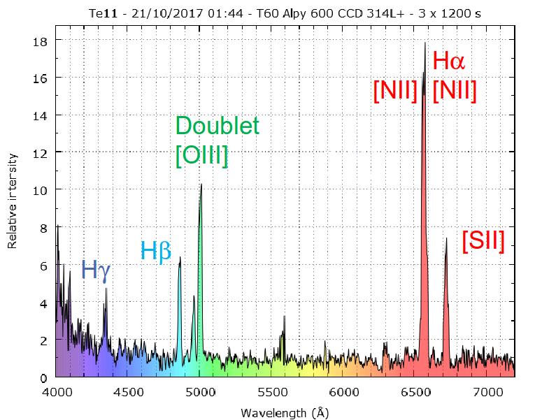 Confirmation de nébuleuses planétaires candidates au Pic 959062Te11anot