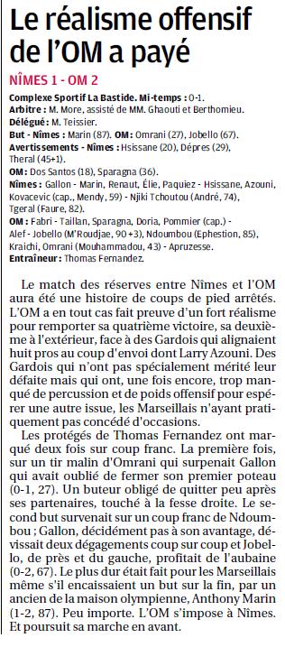 MATCHS DE LA RESERVE OLYMPIENNE - Page 15 959484505b