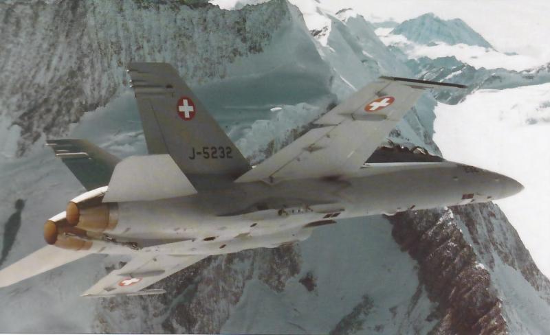 MCDONNELL-DOUGLAS F/A-18 HORNET  960299F_18D_Suisse_1
