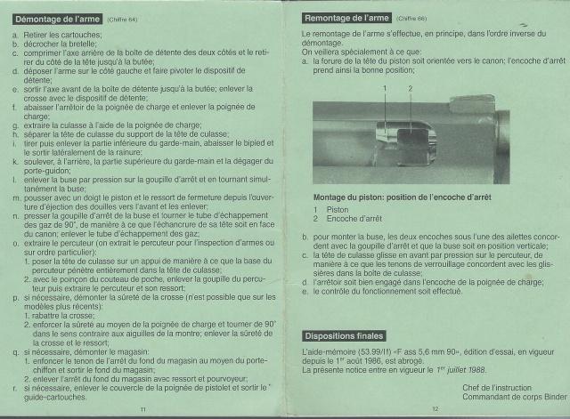 Notice sur le F.ass 90  Suisse 960855Fas907
